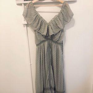 Maxi Gray Dress J.O.A Size M LIKE NEW